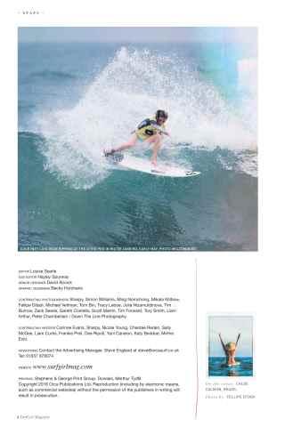SurfGirl Magazine Preview 6