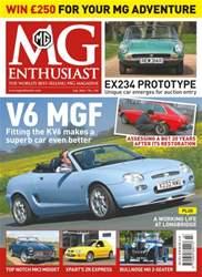 MG Enthusiast issue Vol.46 No. 7- V6 MGF