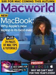 Macworld UK issue June 2016