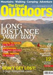 TGO - The Great Outdoors Magazine issue June 2016