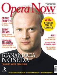 Opera Now issue June 2016