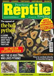 Practical Reptile Keeping issue No 89- The Appeal Of The Ball Python