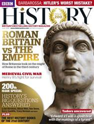 BBC History Magazine issue June 2016