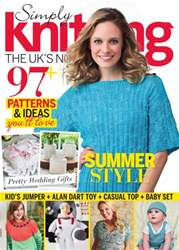 Simply Knitting issue July 2016