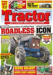 Tractor & Farming Heritage Magazine issue July 2016