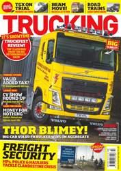 Trucking Magazine issue No. 391 Thor Blimey