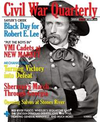 Civil War Quarterly issue Summer 2016