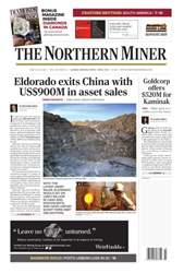 The Northern Miner issue Vol. 102 No. 15