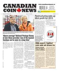 Canadian Coin News issue V54#05 - June 14