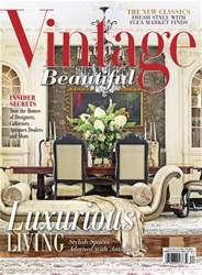 Victorian Homes issue Vintage Beautiful Spring-Summer 16
