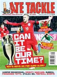 Late Tackle Football Magazine issue Jun/Jul 2016