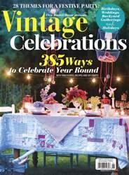 Romantic Homes issue Vintage Celebration Summer 2016