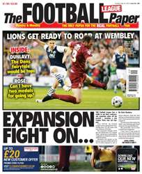 The Football League Paper issue 22nd May 2016