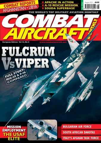 Combat Aircraft issue Vol 12 No 8