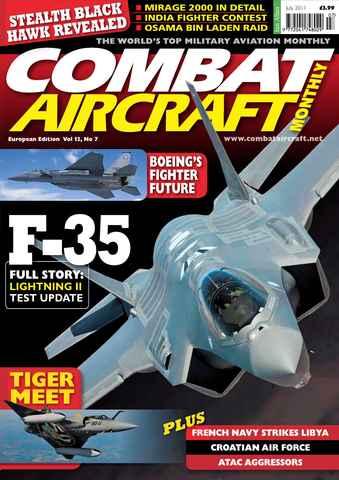 Combat Aircraft issue European Edition - Vol 12 No 7