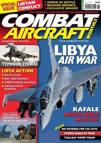 Combat Aircraft issue European Edition - Vol 12 No 6
