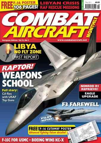 Combat Aircraft issue European Edition - Vol 12 No 5