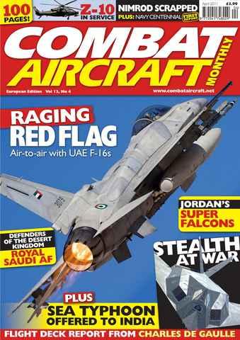 Combat Aircraft issue European Edition - Vol 12 No 4