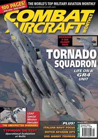 Combat Aircraft issue European Edition - Vol 12 No 1