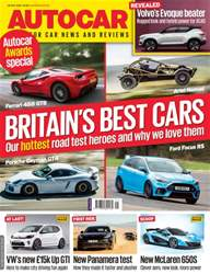 Autocar issue 25th May 2016