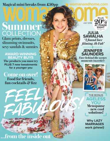 Woman & Home issue July 2016