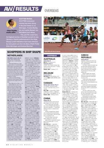 Athletics Weekly Preview 62