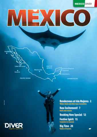 DIVER issue DIVER MEXICO Supplement