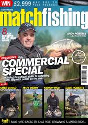 Match Fishing issue June 2016