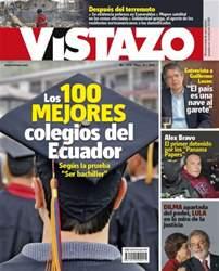 Revista Vistazo issue VISTAZO 1170