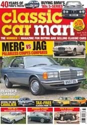 Classic Car Mart issue Vol. 22 No. 8- Merc vs Jag