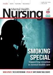 Mental Health Nursing issue June 2016
