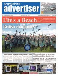 Argyllshire Advertiser issue 27th May 2016