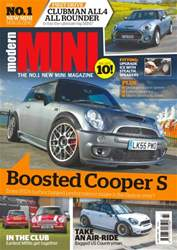 Modern Mini issue No.79- Boosted Cooper S