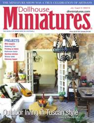 Dollhouse Miniatures issue Issue 52