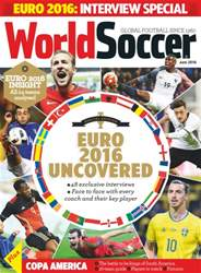 World Soccer issue May 2016
