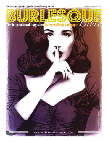 Burlesque Bible issue Issue 15 - Dita Von Teese Newspaper
