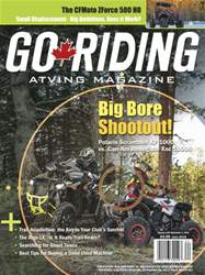 Go Riding ATVing Magazine issue June 2016