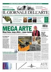 Il Giornale Dell'Arte issue giugno 2016