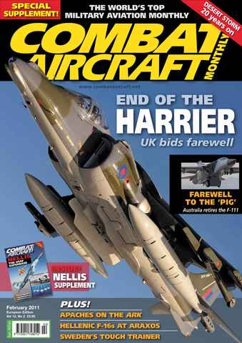Combat Aircraft issue European Edition - Vol 12 No 2