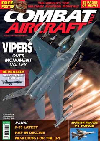 Combat Aircraft issue European Edition - Vol 12 No 3