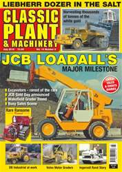 Classic Plant & Machinery issue Vol. 14 No. 8 JCB Loadall's