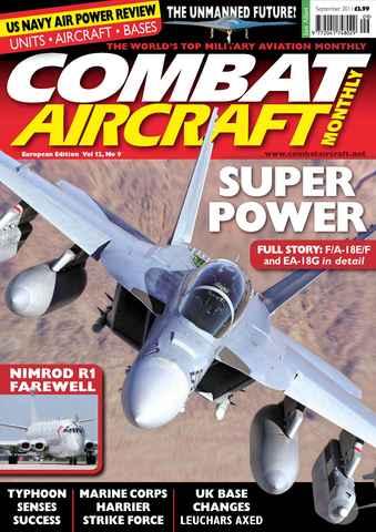 Combat Aircraft issue European Edition - Vol 12 No 9