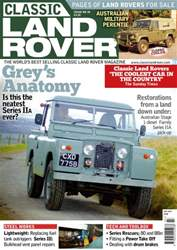 Classic Land Rover Magazine issue July 2016