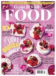 Great British Food issue Jul/Aug 16