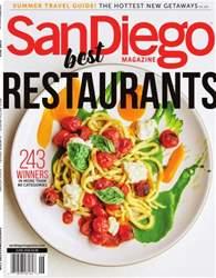 San Diego Magazine issue June 2016