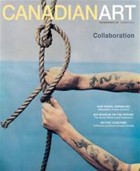 Canadian Art Magazine issue Summer 2016