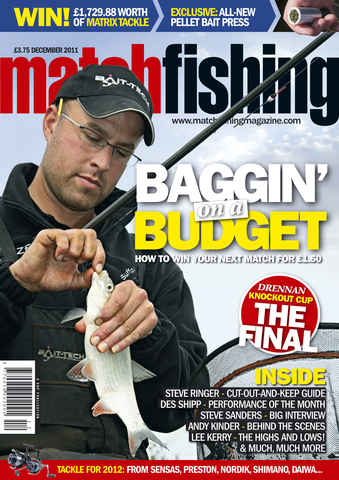 Match Fishing issue December 2011