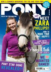 Pony Magazine issue  PONY magazine – July 2016