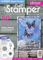 Craft Stamper issue August 2016