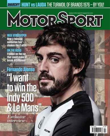 Motor Sport Magazine issue July 2016
